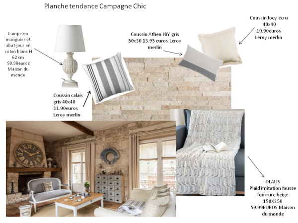 stephanie rossano planche tendance campagne chic